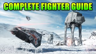 Complete Pilot Guide To Star Wars Battlefront Beta - Snowspeeder, X-Wing, A-Wing, Tie Fighter