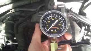 Opel Astra h Z16XE1 замер компрессии