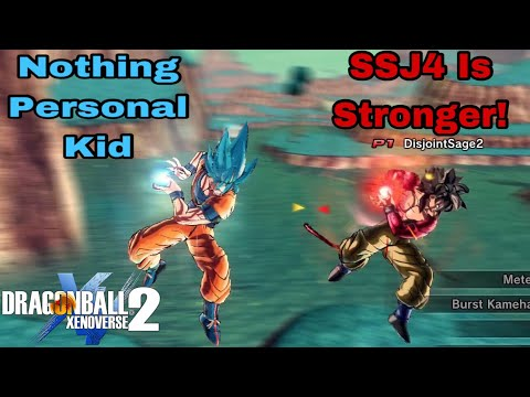 IT ISN'T OVER YET! OVERPOWERED SSB Goku Vs Goku In Dragon Ball Xenoverse 2!