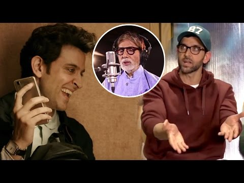 How Hrithik Roshan Preparations For Big B's Mimicry Scene In Kaabil