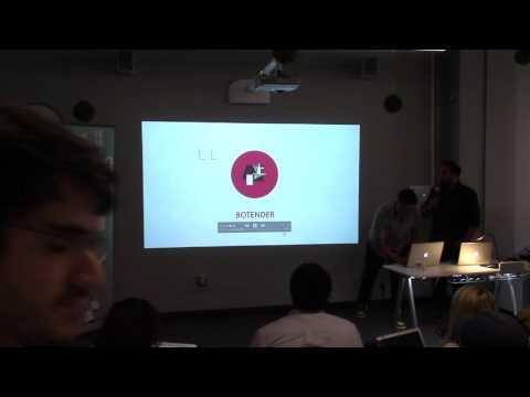 Botender - VentureBeat Botathon at Holberton School