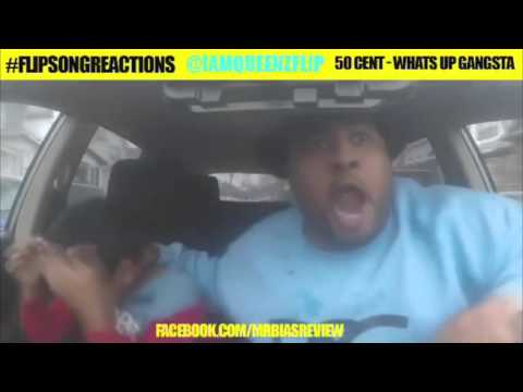 THE BEST flipsongreactions #15 50cent - What's Up Gangsta