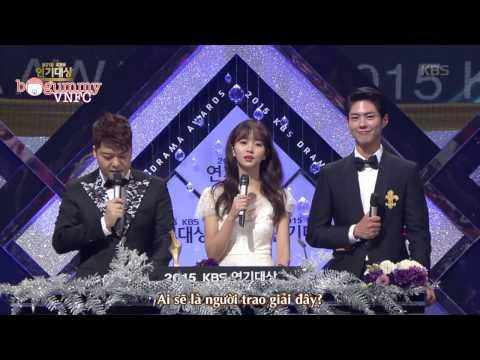 [300days with BOGUMMY VNFC][Vietsub] KBS Drama Awards 2015 - Park Bo Gum cut Part 1