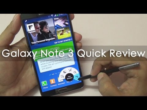 Samsung Galaxy Note 3 Review Octa Core Model