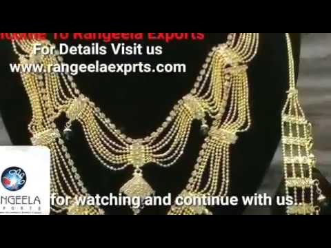 Best Place for Immitation Guaranteed Jewellery, Rangeela Exports Mumbai India