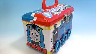 THOMAS & Friends sweets tin きかんしゃトーマスのお菓子詰め合わせ缶ケース