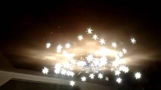 видео люстры для натяжных потолков фото цены