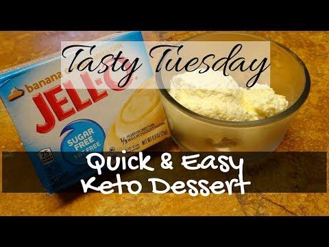 QUICK & EASY KETO DESSERT | TASTY TUESDAY
