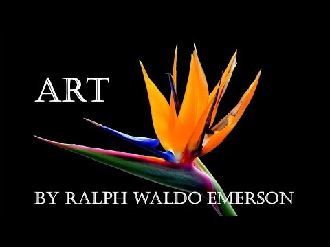 ART from Essays, First Series by Ralph Waldo Emerson Audiobook