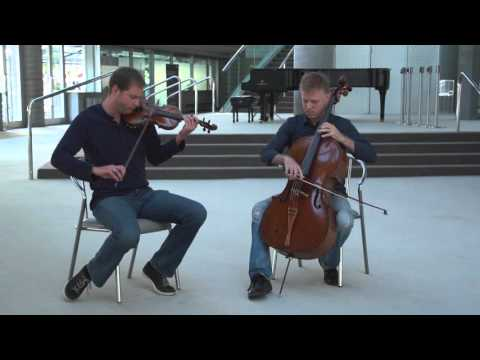 Brahms Double Concerto deconstructed by TSO's Jonathan Crow and Joseph Johnson