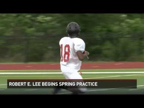 Robert E. Lee Begins Spring Football Practice