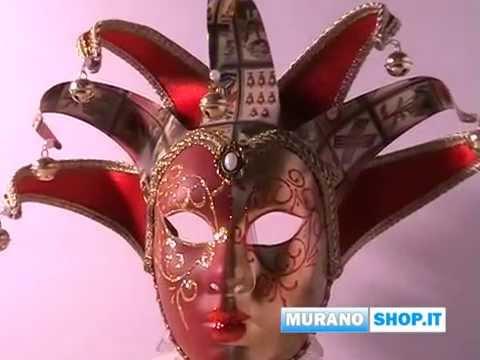 Maschera Carnevale Venezia - YouTube c9bbb8dffc53