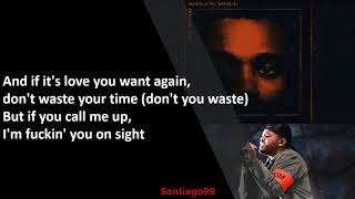 The Weeknd - Hurt You (Lyrics)