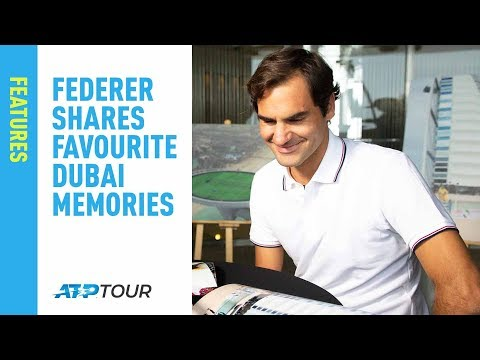 Federer Shares Favourite Dubai Memories