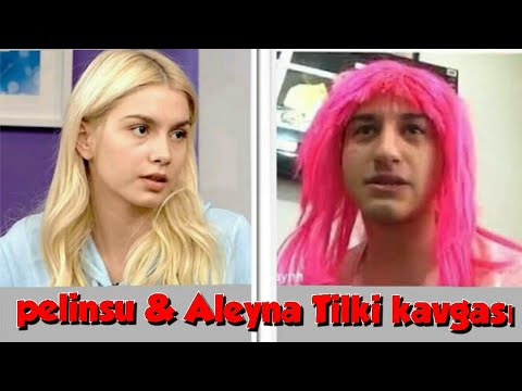Pelinsu Tilki & Aleyna  Tilki kavgası ...
