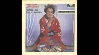 Silent Tone Record/プッチーニ:蝶々夫人/トゥリオ・セラフィン指揮聖ローマ聖チェチーリア音楽院管弦楽団/合唱団、レナータ・テバルディ、カルロ・ベルゴンツィ、エンツォ・ソルデッロ