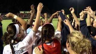 Georgia at Auburn Soccer highlights