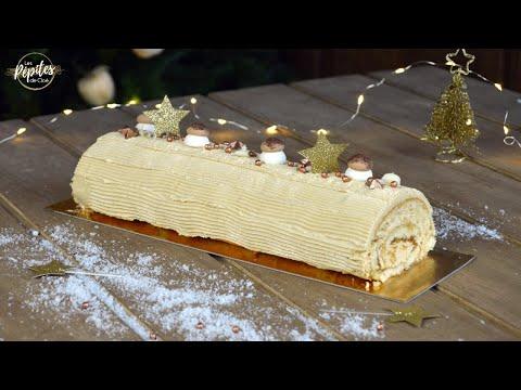 bûche-roulée-au-café-|-recette-d'abonné-avec-thibault-cake's-in-the-box-!