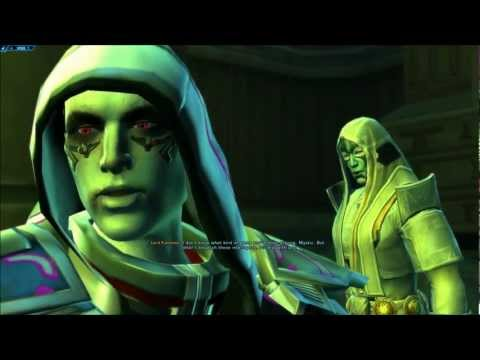 SWtOR Jedi Knight Story Cutscenes Pt. 26 [Chapter 3 / Voss / Light Side]