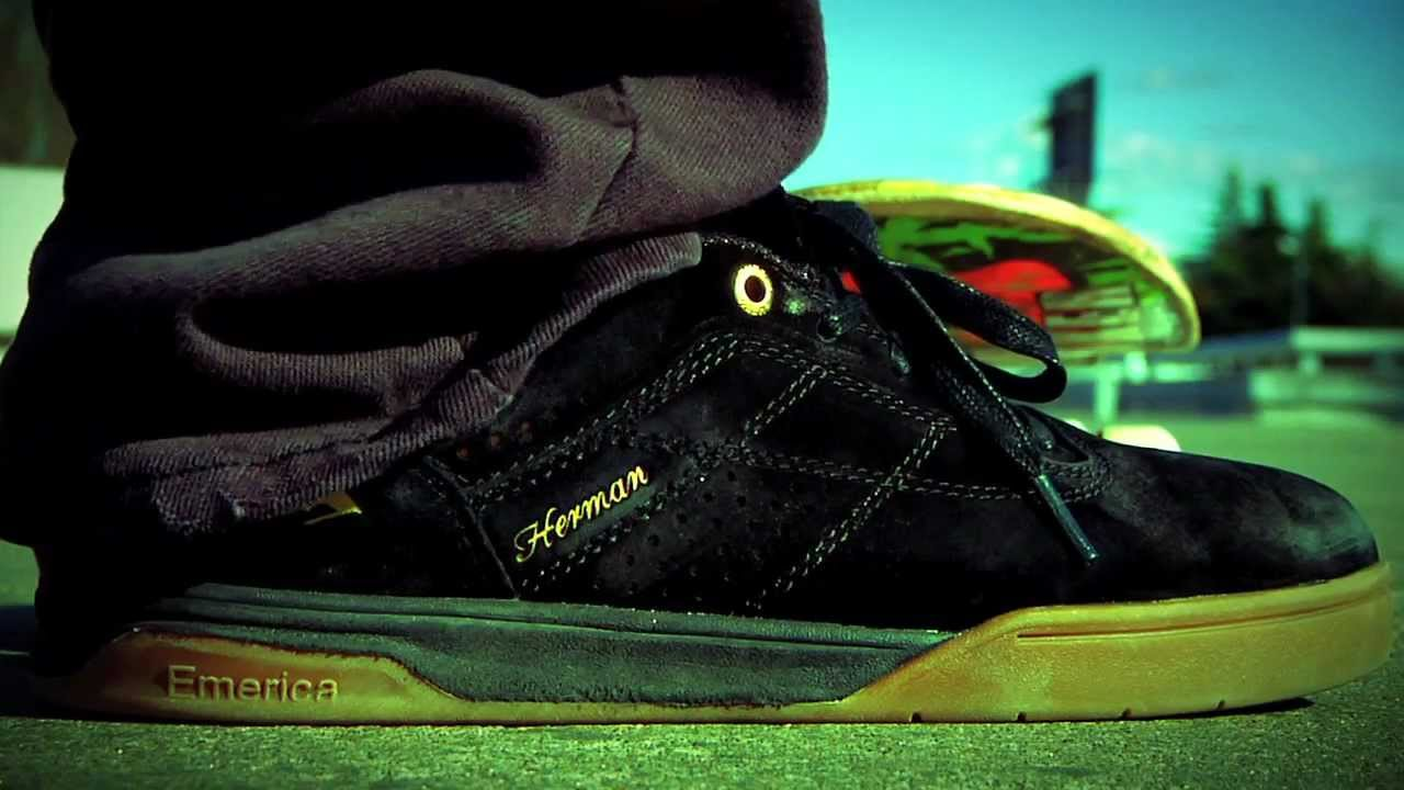 Emerica and Bryan Herman proudly