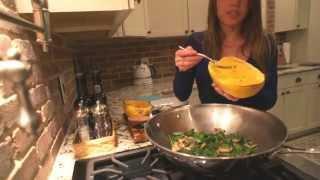 Spaghetti Squash with Spinach and Mushrooms Recipe - Carolina B