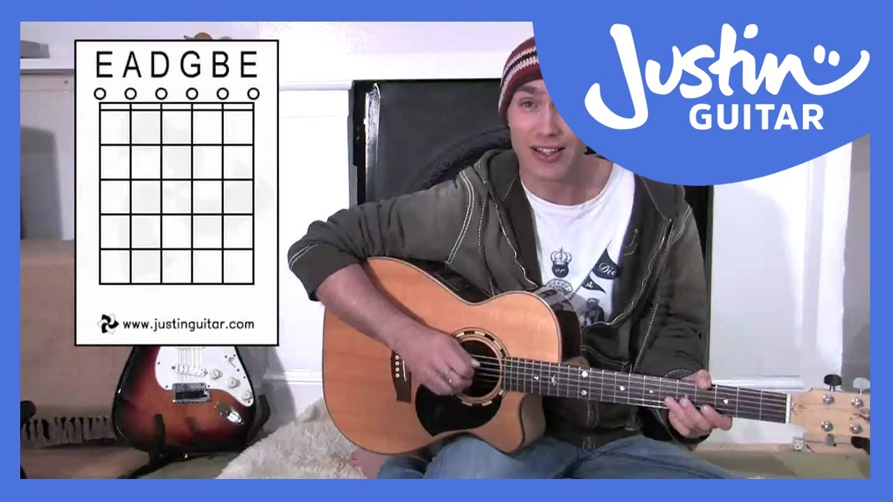 Names Of Open Strings Guitar Lesson Bc 133 Guitar For Beginners