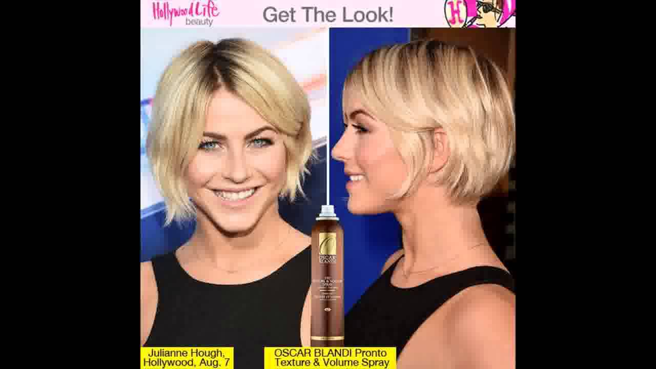 Julianne Hough Rocks Messy Bob Get Her Effortlessly Cool Look