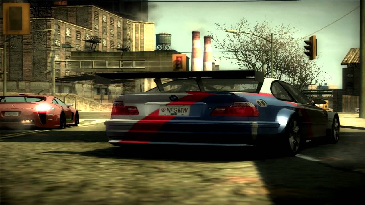 Need For Speed Most Wanted 2005 Bmw M3 Gtr E46 Drag Race Youtube
