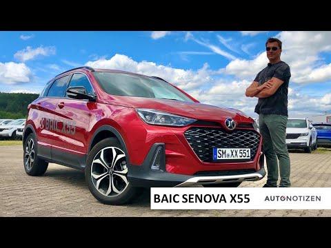 BAIC Senova X55 2020: SUV aus China im Review, Test, Fahrbericht
