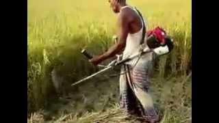 Repeat youtube video الحصاده المحموله ومحشة القمح والبرسيم  والذره والقصب
