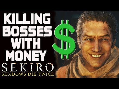 Sekiro fan sets out to kill every boss — by throwing money at them