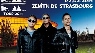 Depeche Mode - Deltamachine Tour FULL SHOW Strasbourg 02.02.2014