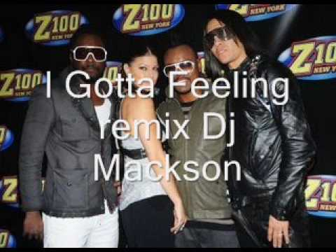 The black eyed peas  I Got a Feeling  remix
