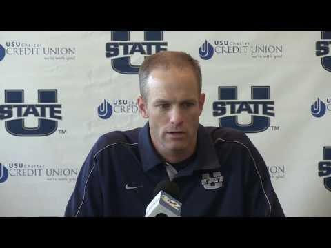 Matt Wells Interview - Utah State Football Media Days 2013