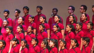 Christ University Choir performs TOTO`s Bottom of your soul
