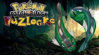 NAJLEPSZY POKEMON NA LIDERKĘ? - Pokemon Pitch Black Nuzlocke #7