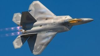 WORST NIGHTMARE for S-400 Missile System !!! US Air Force F-22 Aircraft