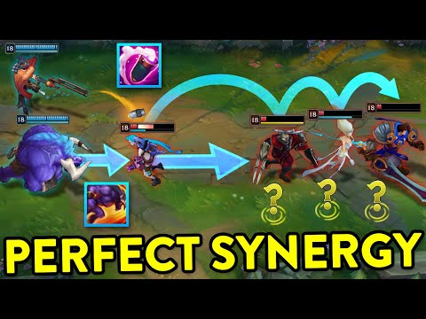 THE POWER OF PERFECT SYNERGY - League of Legends