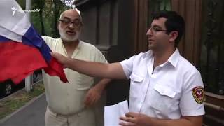 Գասպարին բողոքի ակցիա իրականացրեց ընդդեմ Ռ. Քոչարյանի և ՌԴ-ի