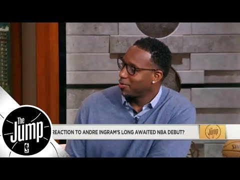 Tracy McGrady 'loved' watching Andre Ingram make NBA debut after 10 G League years | The Jump | ESPN
