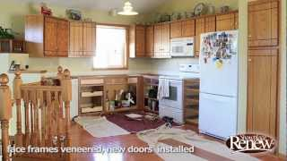A Full Kitchen Remodel In 2-1/2 Days! Renew Cabinet Refacing Makes It Quick And Easy.