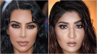 Kim Kardashian West Met Gala 2019 Makeup Tutorial   #RecreationWeek   Shreya Jain