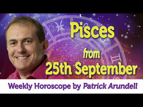 Pisces Weekly Horoscope from 25th September - 2nd October 2017