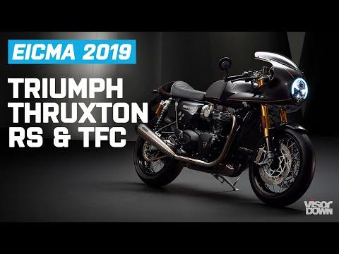 2020 Triumph Thruxton RS and 2020 Triumph Thruxton TFC   EICMA 2019   Visordown