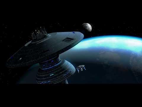Spencer's Enterprise-A Returns Home To Spacedock (Star Trek III)