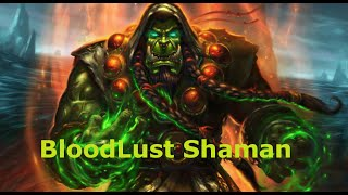 [Hearthstone] Legend Bloodlust Shaman Guide