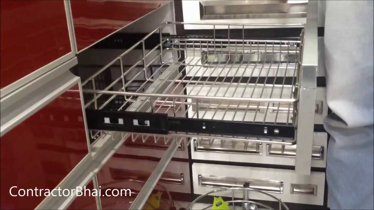 Kitchen trolley designs by youtube for Kitchen trolley designs for small kitchens
