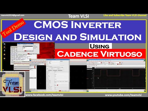 Cmos Inverter Schematic Design And Simulation Using Cadence Virtuoso Part 1 2 Youtube
