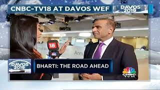 Davos 2019: Shereen Bhan In Conversation With Sunil Mittal