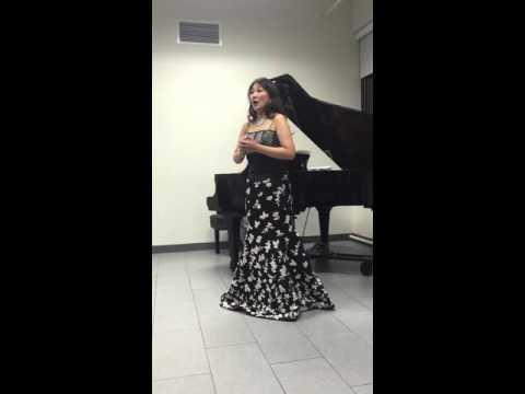 田村麻子さんアヴェマリアを歌う